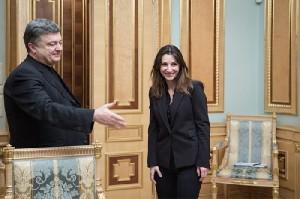 Petro Poroshenko, Eka Zguladze