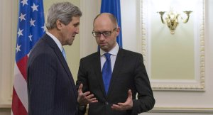 John Kerry, Arseney Yatsenyuk