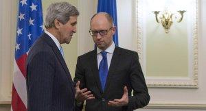 John Kerry, Arseney Yatsenyuk