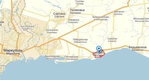 Mariupol left, Sartana left center, Sakhanka just NE of Shirokino (--russiadefence.net) Click to enlarge.