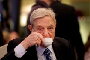 George Soros (--Bloomberg)