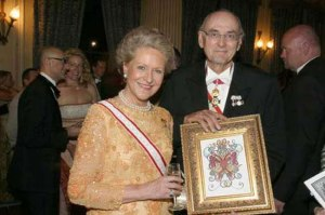 Prince Dimitri Romanov (right), Russian banker, philanthropist, and author, with wife Dorrit (--bt.dk)