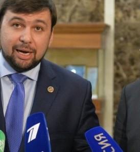 DPR Traitor Denis Pushilin (--Sputnik)