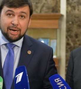 DPR Traitor Denis Pushilin (--Sputnik)