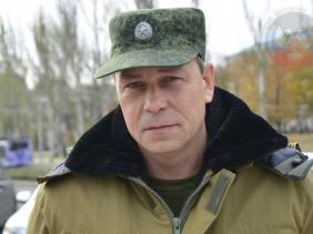 Eduard Basurin, Kominternovo (--dninews.com)