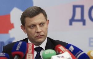 Alexander Zakharchenko (--TASS/EPA)