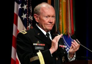 Chairman of the Joint Chiefs of Staff Martin Dempsey