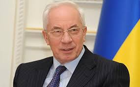 Former Prime Minister Mykola Azarov