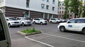 OSCE Donetsk fleet (--Zak Novak)