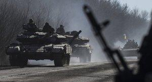 Ukrainian Army equipment (Sputnik/AP/Evgeniy Maloletka)