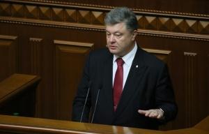 Acting Kiev regime leader Petro Poroshenko