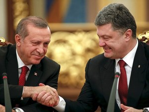 Erdogan, Poroshenko meet in Ankara, March 9, 2016 (--uawire.org)