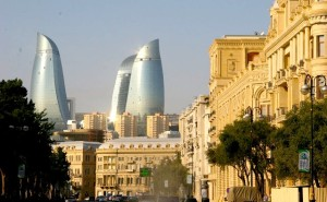 Baku, capital of Azerbaijan (--Fort Russ)