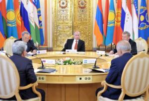 CSTO meeting (--stratfor.com)