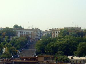 Odessa Potemkin Stairs (--MeRyan flickr.com/photos/63457916@N00/3101213869/)
