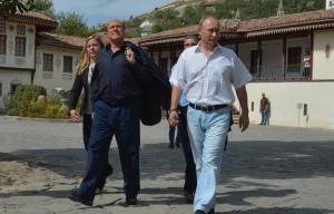 Silvio Berlusconi Vladimir Putin (--EPA/Alexey Druzhinyn/Ria Novosti)