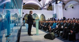 Petro Poroshenko, European Annual Strategy Meeting, Kiev, September 11, 2015 (--Sputnik/Mikhail Palinchak)