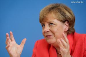 Angele Merkel (--news.xinhuanet.com)