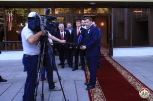 Alexander Zakharchenko, Tskhinvali (--presidentruo.org)