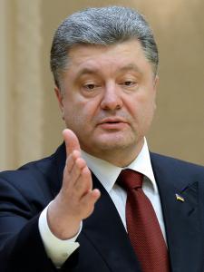 Petro Poroshenko, New York (--AFP/Getty)
