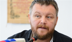 "Andrei Purgin, DPR Speaker said on April 23, 2015: ""Donbas Won't Recognize Constitution if Kiev Unilaterally Amends It."" QI asks: were Purgin's words too strong for the Kremlin? (--english.farsnews.com)"