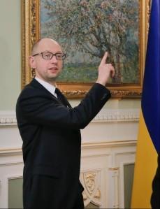 Kiev regime acting prime minister Artseny Yatsenyuk (--Forbes)