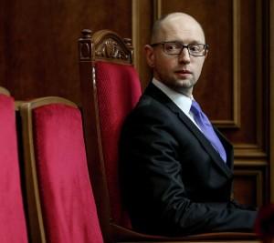 Acting Kiev-regime Prime Minister Artseny Yatsenyuk (--Sputnik)