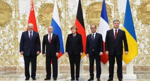 Minsk 2.0 participants (--Sputnik/Alexey Druzhinin)