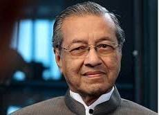 Malaysia's former Prime Minister Dr Mahathir Mohamad
