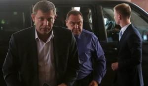 DPR/LPR Prime Ministers Alexander Zakharchenko and Igor Plotnitsky (--Novorossia Today)