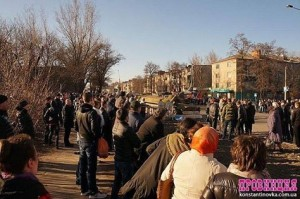 Donetsk, Rally in Memory of Children, March 17, 2015 (--Truth about Situation in Donbass)