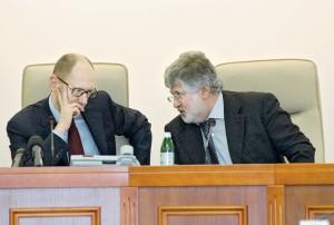 Yatsenyuk, Kolomoysky (--Kyiv Post)