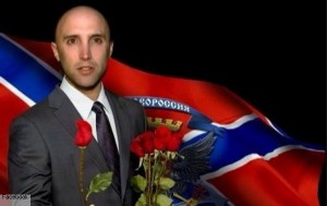 British journalist Graham Phillips, known for his Novorossiya frontline videos (--Novorossia Today)