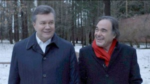Yanukovych with American film director Oliver Stone (--filmstreet.pro)