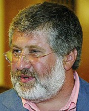 Oligarch Igor Kolomoisky (--arrse.co.uk)