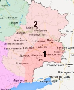 Donetsk and Lugansk Oblasts