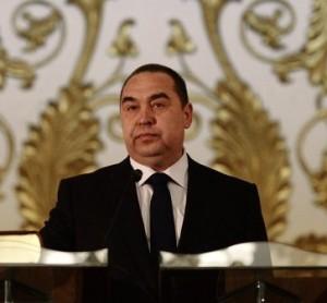LPR Prime Minister Igor Plotnitsky