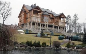 Mezhyhirya, former President Yanukovych's private residence (--Telegraph) Not really so grand for a President.