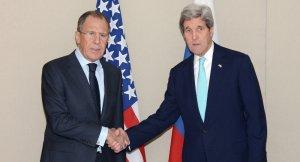 Sergei Lavrov and John Kerry (--Sputnik)