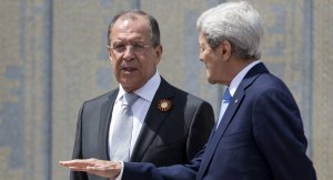Sergei Lavrov, John Kerry at Sochi (--RT)