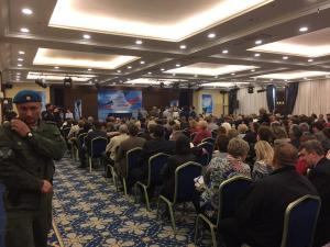 Conference with Alexander Zakharchkino, May 15, 2015