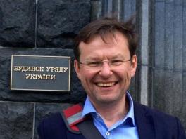 Ukraine's First Deputy Economic Minister, German lawyer Alexander Borovik