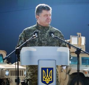 Kiev regime leader Petro Poroshenko (--Tass)