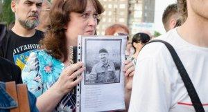 Mosgovoy mourners in Alchevsk, Lugansk People's Republic, Novorossiya (--Sputnik)