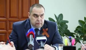 Lugansk People's Republic Prime Minister Igor Plotnitsky