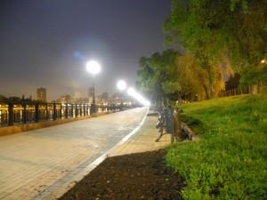 Donetsk at Night