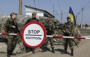 Ukrainian soldiers near Mariupol (--EPA/TASS/Irina Gorbasyova)