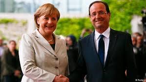 Angela Merkel, Francois Hollande (--dw.de)