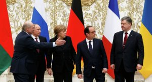 Minsk 2.0 peace talks, February 2015