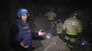 Donetsk shelled